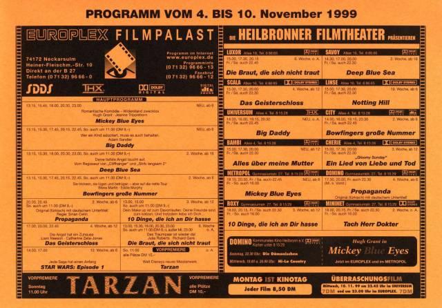 programmzettel-november1999